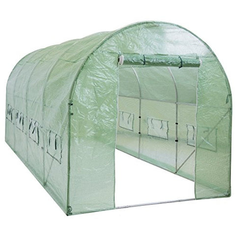 Best Choice Products SKY1917 Walk-In Tunnel Green House Garden Plant, 15' x 7' x 7'