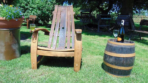 Armchair From Old Barrel