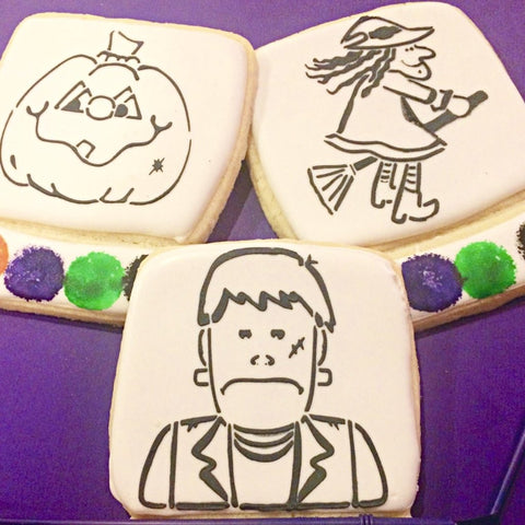 Paint Your Own Halloween Cookie (PRE-ORDER)