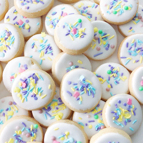Easter Sprinkle Cookies