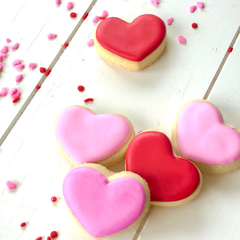 Simple Mini Hearts (1 dozen)