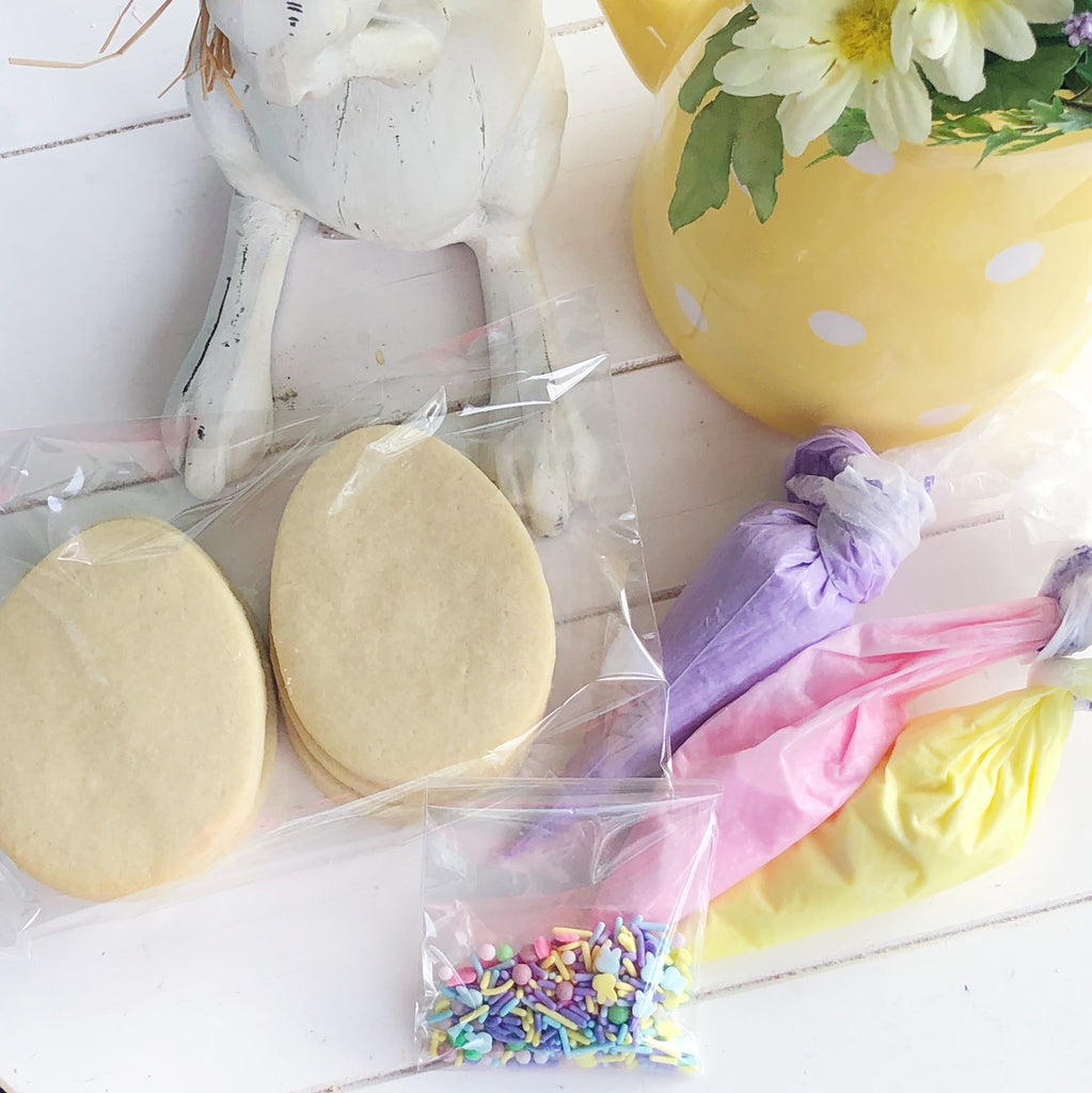 Easter Egg Cookie Kits - Half Dozen $17 or Full Dozen$25