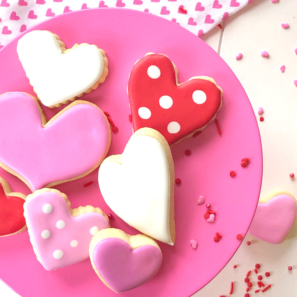 Assorted Hearts (1 dozen assorted sizes)