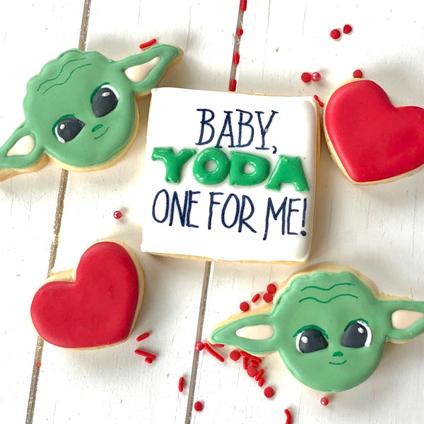 Baby, Yoda One For Me (1/2 dozen assorted sizes)