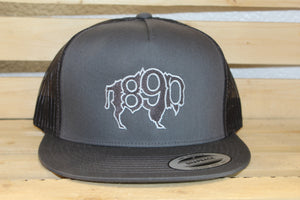 5 Panel Embroidered 1890 Hat