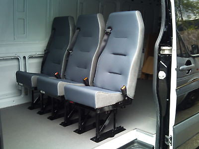 Van Triple Rear Seat Conversion All Makes Inc Fitting