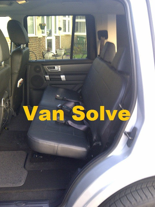 Land Rover Discovery Commercial Seat Conversion 2004