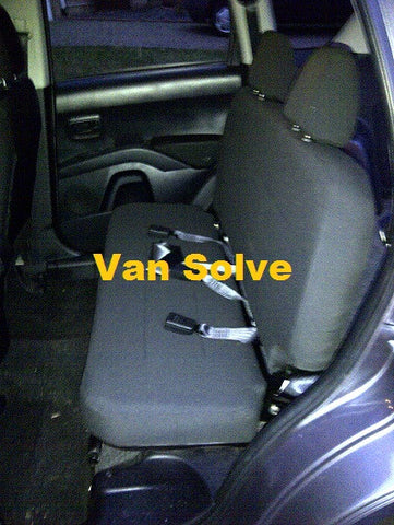 Mitsubishi Outlander 4 Work Commercial Seat Conversion