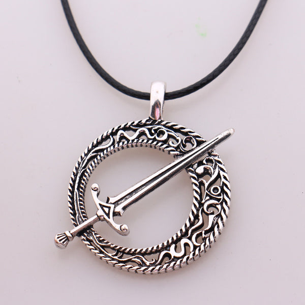 Gaming pendant necklaces and more world shop spot dark souls 3 blade of the dark moon pendant mozeypictures Image collections