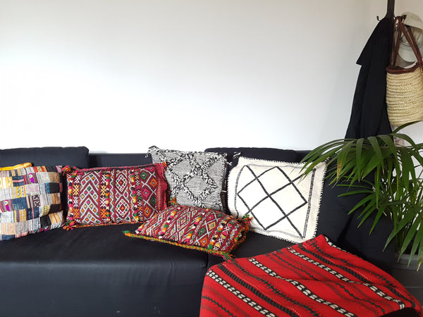 Moroccan Traditional Berber Pillow Cushion Cover (Large)