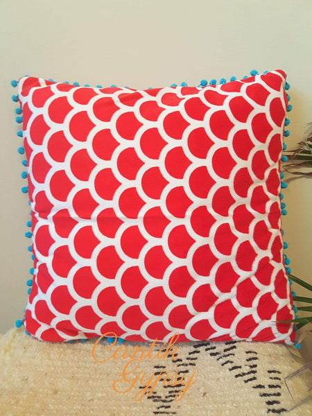 Cantik Gypsy Exclusive Cushion Cover - Red Covers