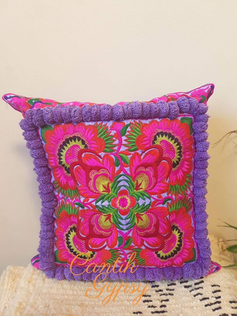 Hmong Hill Tribe Cushion Cover Covers