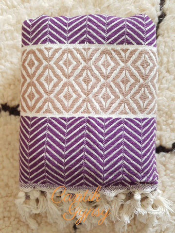 Premium Turkish Towel - Purple Accessories