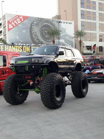 SEMA 29 Nov 2017 Monster Car display