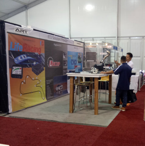 @SEMA 2017, 31 Oct - View of ART booth