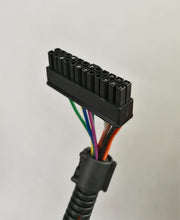 Btechnik Plug & Play sensor harness - Unichip connector front view