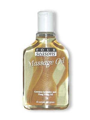 Four Seasons Massage Oil Four Seasons - All Natural - Non Greasy