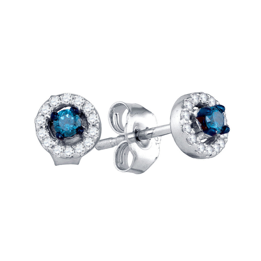 elegant stud carat jewelry earrings ibwksn colored diamond blue thumb jewelers kranichs
