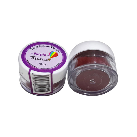 TRANS FOOD COLOUR POWDER (6X0.18OZ) - PURPLE