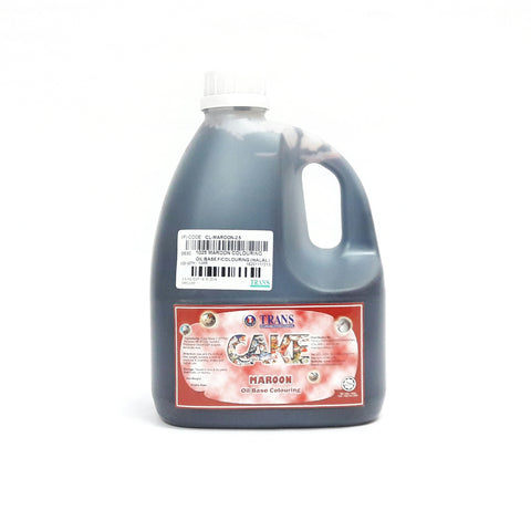 1025 MAROON COLOURING OIL BASE (2.5KG)