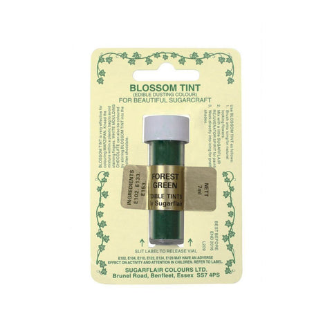 DUSTING COLOURS BLOSSOM TINT - FOREST GREEN (7ML)