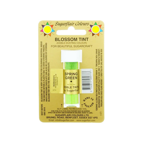 DUSTING COLOURS BLOSSOM TINT-SPRING GREEN (7ML