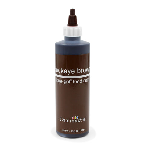 LIQUID COLORS - WATERBASE (LIQUA GEL) BUCKEYE BROWN (10.5OZ)