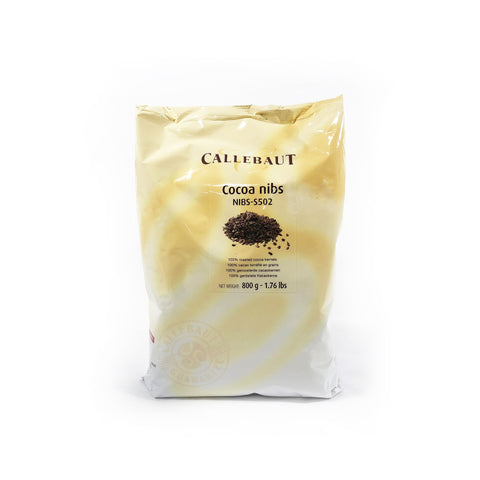 CALLEBAUT 100% PURE ROASTED COCOA NIBS (0.8KG/0.5KG)