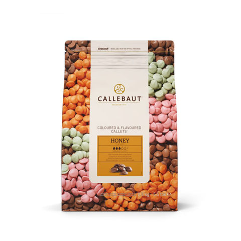 CALLEBAUT, HONEY MILK COUV. 32.8% CALLETS, 2.5KG