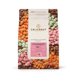CALLEBAUT STRAWBERRY CHOC COUV. CALLETS (2.5KG)