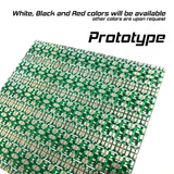 1 Panel (14x5), PCB Only, 2 Color, 0.5W, 4 LED ver (4x1), Custom build PCB