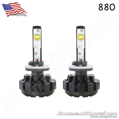 H1 CREE LED Headlights, 60W/Set, 7200LM/Set, 12V 24V | PAIR