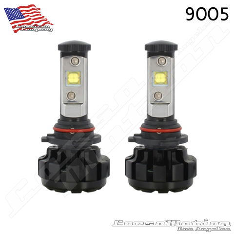 9005 CREE LED Headlights, 60W/Set, 7200LM/Set, 12V 24V | PAIR