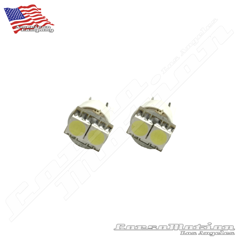 License plate LEDs T10 168 (interior light)