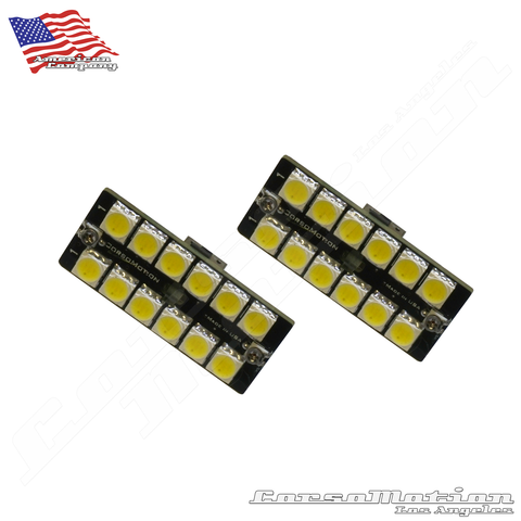 Honda Accord 9th 10th custom door lights interior kit, pair - Wedge type - 168, T10