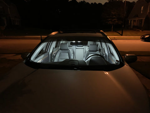 Honda CR-V 5th gen custom LED interior kit, 17 18 19