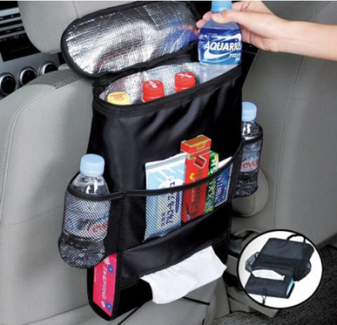 Universal Car Net Organizer between front seats 9.4'x9.7'  | EACH