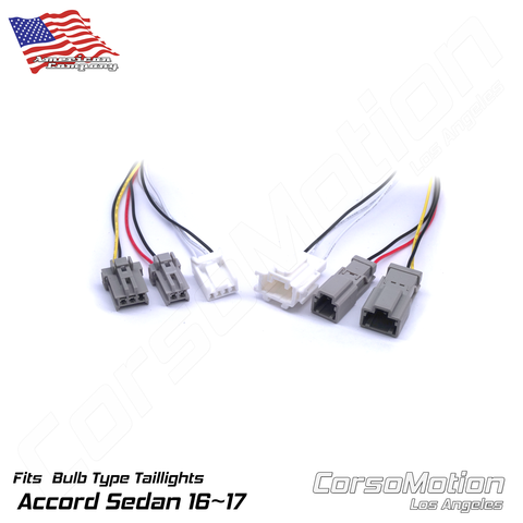 Plug and Play LED reflector control modules, load resistors | PAIR, for 9.5th Honda Accord Sedan BULB taillights