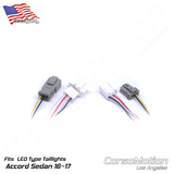 Plug and Play LED reflector control modules, load resistors | PAIR, for 9.5th Honda Accord Sedan LED taillights