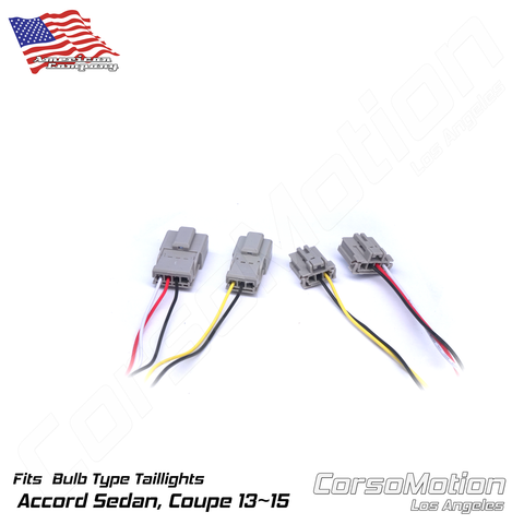 Plug and Play LED reflector control modules, load resistors | PAIR, for 9th Honda Accord Sedan BULB taillights
