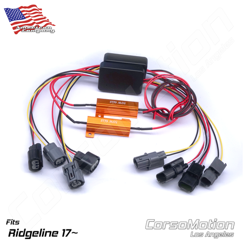 Plug and Play LED reflector control modules, load resistors | PAIR, for 9th Honda Civic Sedan bulb taillights