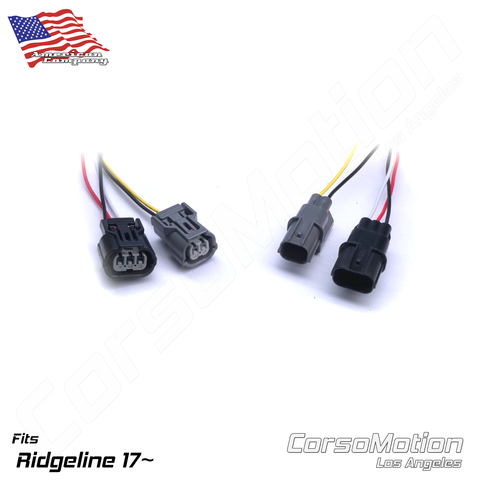 Plug and Play LED reflector control modules | PAIR, for 2nd gen Honda Ridgeline 17 18 19