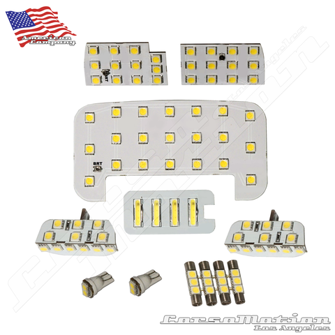 Honda Accord bright adjustable LED custom interior kit (w/ 2 DOOR LIGHTS) 13 14 15 16 17 | ver.1