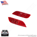 Subaru Crosstrek POWER LED rear bumper reflectors in OEM Housing, 13 14 15 16 17