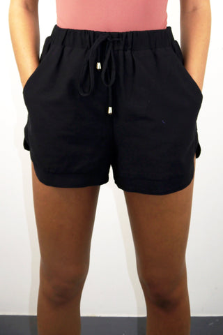 Ava - Black Boater ShortsAva - BooDeluxe - Shorts: