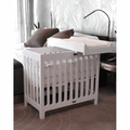 Alma Papa Crib - Coconut White