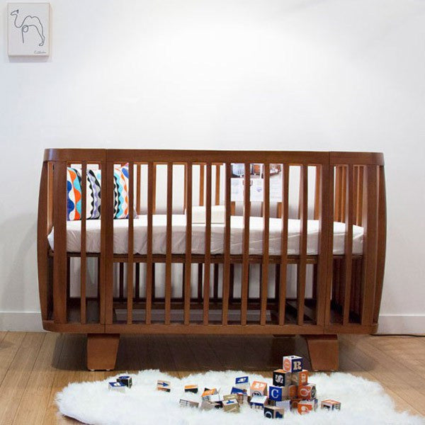 Bloom Retro Cot - Oak