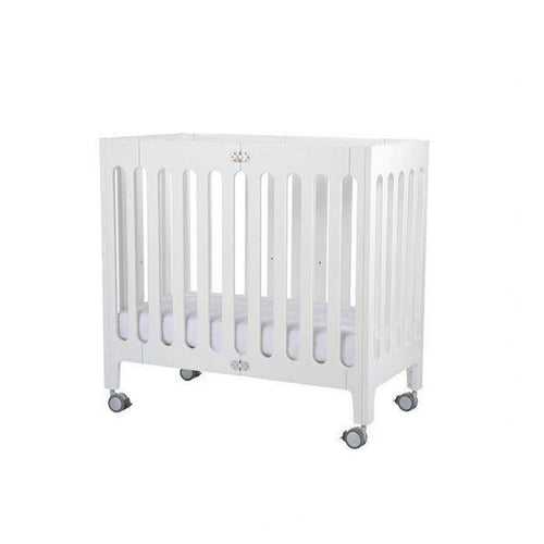 Alma Mini Urban Crib - Coconut White