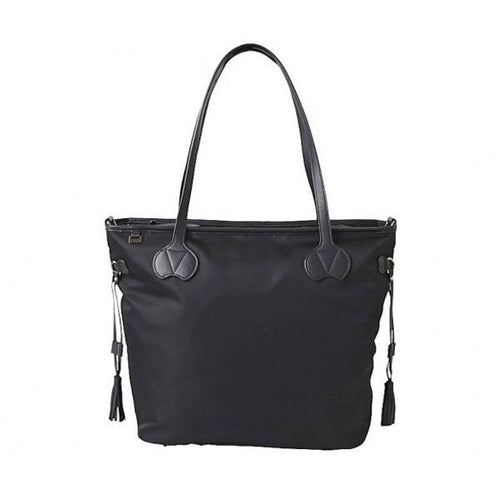 OiOi Micro Tote Diaper Bag with PU Trim