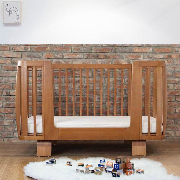 Bloom Retro Bed Rail - Oak